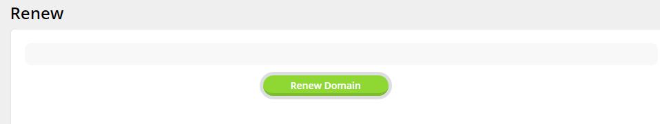 RE: How to renew my domain name that is registered with TMDHosting?