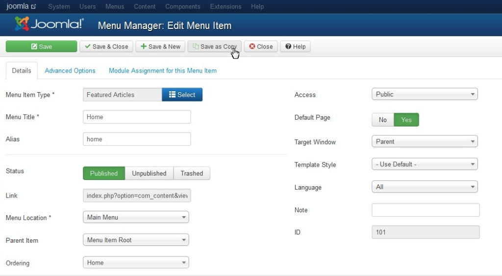 RE: How to configure a multilingual site in Joomla