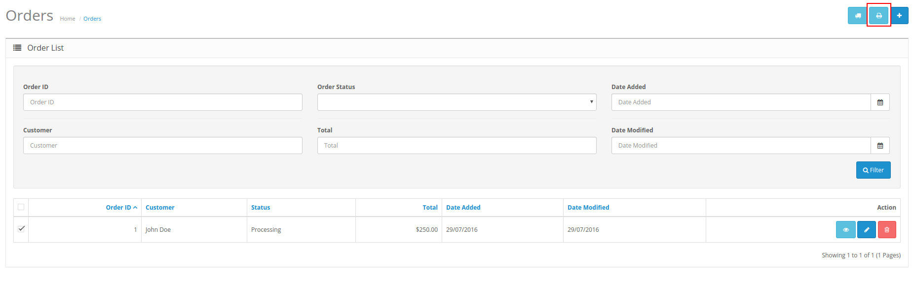 RE: Print Order Invoice In OpenCart  Print Invoice