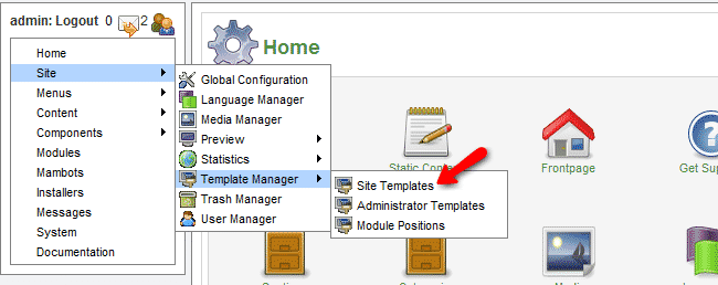 How to install templates?