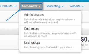 CS-Cart Administration overview