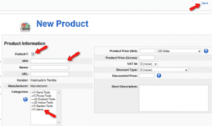 How to add products in VirtueMart?