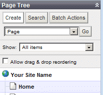 How to create a new page in SilverStripe?