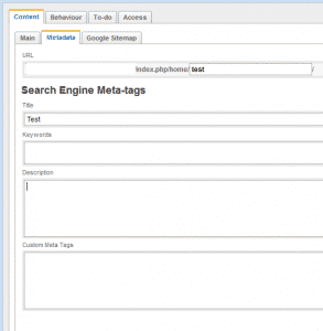 How to modify the meta tags in SilverStripe?