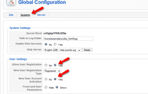 How to apply user registration and account activation policy?