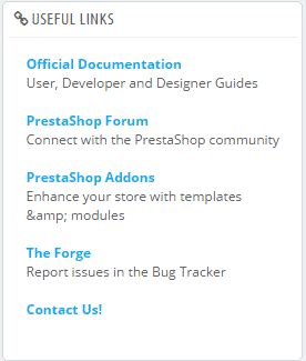 PrestaShop 1.7 back-office overview