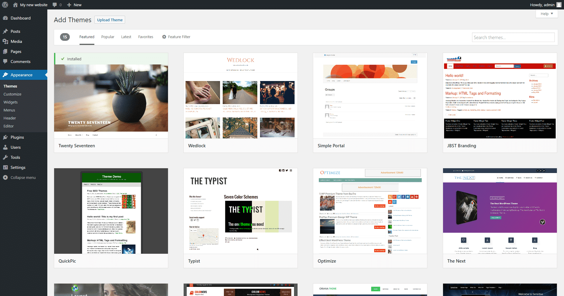 Wordpress Theme Rep