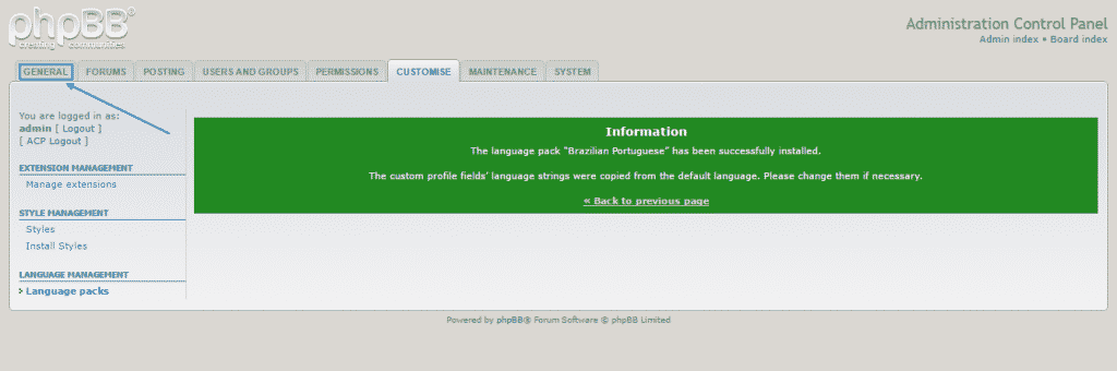 language install