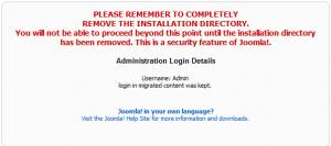 Joomla 1.0 to Joomla 1.5 Upgrade